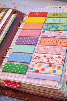 I did something similar to this for my washi tape earlier. I knew I couldn't have been the first but I hadn't seen it anywhere