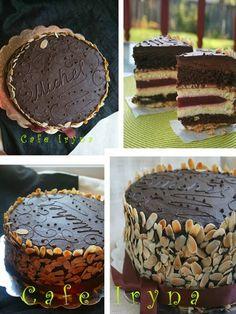 """Во второй раз приготовила многослойный торт от Мишель.Когда-то мне казалось подвигом, сотворить такое многослойное сооружение...  Но,""""не ..."""