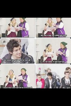 Its the beat of WMYB :) funniest reaction from zayn ever!!