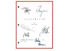 Elementary Pilot Episode TV Script Autographed: Jonny Lee Miller, Lucy Liu, Aidan Quinn, John Michael Hill, Linda Emond