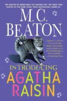 Introducing Agatha Raisin : The Quiche of Death - The Vicious Vet by M. C. Beaton. The first two books of a delightful cozy mystery series. Agatha is the central character- pushy, retired ad executive who moves to the English countryside and solves murders in her new community. Cindy
