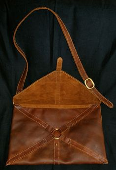 Roman Loculus - Or what we might call a messenger bag.
