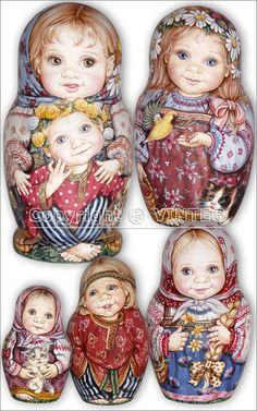 Matrioska- Matroschka- Matriochka- Matrjosjka- russische Puppe Matroesja- Russian Nesting Doll www.matrioskas.es