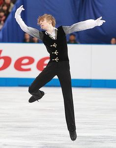 MY FAVOURITE FIGURE SKATER!!!!!! Good luck in the Olympics!!!! -A