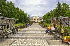 On the streets of Iasi, Romania visiting the National Theater  http://www.rolandia.eu/iasi-city-many-facets/