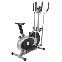 Elliptical Bike 2 IN 1 Cross Trainer Exercise Fitness Machine Upgraded Model -- You can find out more details at the link of the image.
