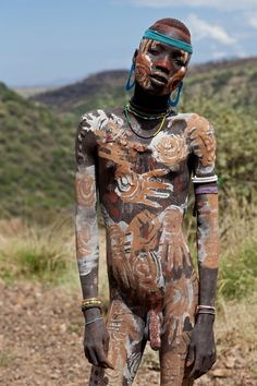 Image result for mursi tribe location
