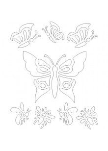 Free printable wall stencils from HGTV. More designs to