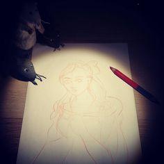Acabará en tragedia, lo sé, lo intuyo... Se palpa en el ambiente.... #sketch #dibujo #desenho #wip #workinprogress  #ronaldo #paco #ambrosio http://misstagram.com/ipost/1540869015094006242/?code=BViRDSSFZHi