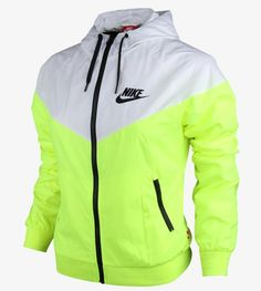 c02327156a3d Nike WindRunner Women s Jacket Windbreaker Hoodie Volt White 545909-702