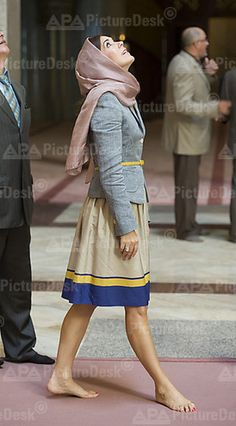 Crown Princess Mary in Morocco, September 2013.