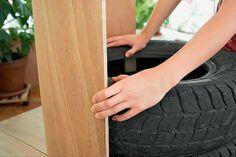 Como fazer poltrona com reciclagem de pneus