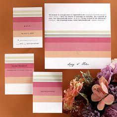 i like the color blocks for invitations