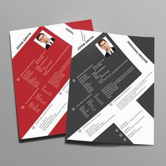 Check out Unique Resume CV by shujaktk on Creative Market