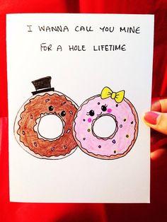 Valentines Day Card valentine card anniversary card, funny love card, boyfriend card by LoveNCreativity
