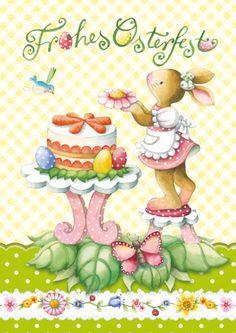 Papeterie Easter Illustration, Illustration Artists, Good Morning Christmas, Xmas, Easter Bunny Pictures, Easter Wallpaper, Honey Bunny, Naive Art, Whimsical Art