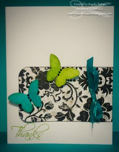 CTMH Card using For Always papers and the Cricut Art Philosophy Cartridge