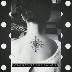Pusula ve gezegenler  dövmesi Tattoobrothers Moda randevu için tel: 0532 354 67 26
