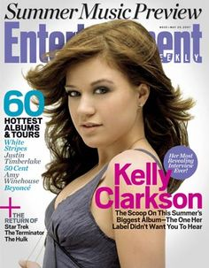 Magazine Cover Kelly Clarkson (May 25, 2007)