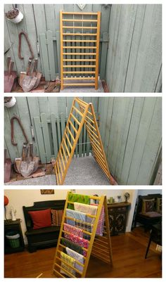 Gregs Repurpose & Upcycle : Baby Crib Drying Rack