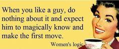 Echte vrouwenlogica