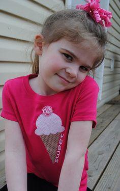 Sweet Ice Cream Cone Shirt
