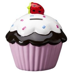 Circo® Cupcake Bank. I want this for her room