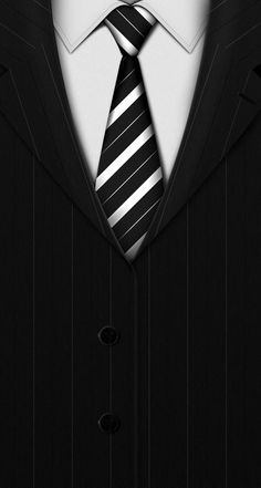 Suit Tie Dark Background #iPhone #5s #wallpaper