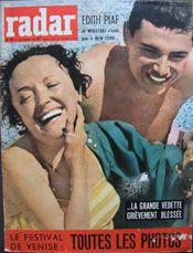 Radar no 501, 12 septembre 1958 Édith #Piaf et #Moustaki n'iront pas à New York www.moustaki.nl