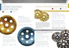 Diamond Tools catalog mockup