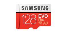 Карта памяти 128Gb microSDXC Class 10 Samsung Evo Plus + adapter SD (MB-MC128GA/RU)
