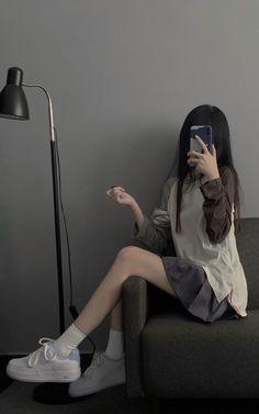 Korean Girl Photo, Korean Girl Fashion, Ulzzang Fashion, Kpop Fashion Outfits, Korean Outfits, Pretty Korean Girls, Cute Korean Girl, Aesthetic Girl, Aesthetic Clothes
