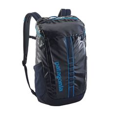 The Patagonia Black Hole® Pack is a burly, highly weather-resistant daypack with just the right amount of space to haul your daily essentials. Streetwear, Urban Aesthetic, Beach Gear, Daisy Chain, North Face Backpack, Travel Luggage, Patagonia, Bandana, Bags
