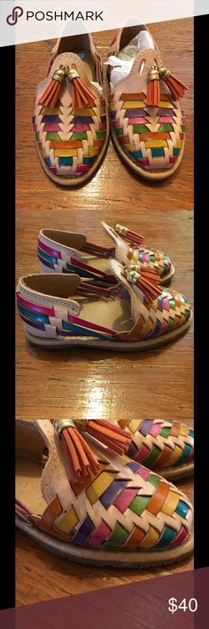 Mexican huaraches/sandals. Authentic Mexican huaraches. Brand new. Size is 10 toddler USA. Shoes Sandals & Flip Flops