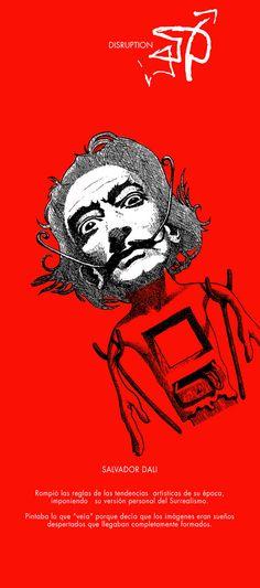 Disruption•Dalí.  TBWA, Vnzla.