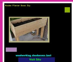 Wooden Planter Boxes Diy 075034 - Woodworking Plans and Projects!