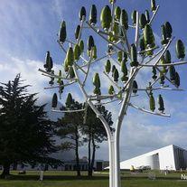 Mini wind turbine as a tree