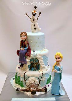 Frozen- Karlar ülkesi Pastaları