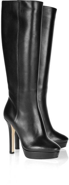 JIMMY CHOO LONDON   Mirage Leather Knee Boots