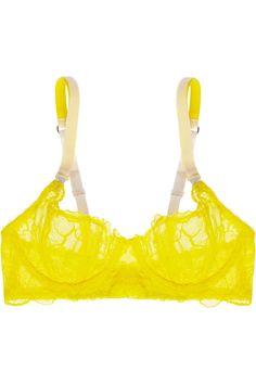 Giselle Charming lace bra #StellaMcCartney #THEOUTNET