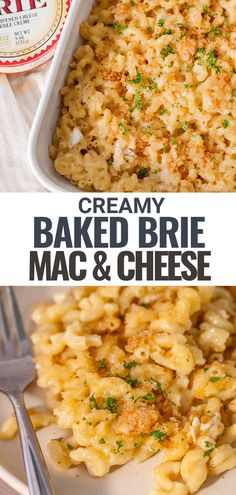 Did you know you can use Brie to make mac and cheese? This recipe for Brie Mac & Cheese makes a creamy delightful mac and cheese that has a classic brie flavor. You can make it right on the stovetop with no roux, top it with a layer of breadcrumbs and bake for a comfort food side dish that's great for a weeknight meal or served at a holiday table.
