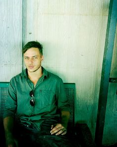 Tom Wlaschiha (Jaqen H'ghar) without the Jaqen hair (via Tumblr)