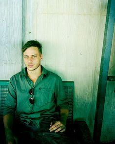 Tom Wlaschiha (Jaqen H'ghar) without the Jaqen hair (via Tumblr)