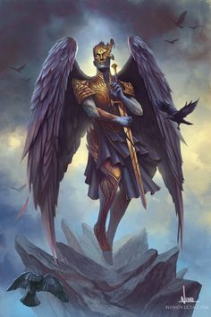 The Illustrations of Nino Vecia, a freelance illustrator working mainly in the fantasy and sci-fi genres. Fantasy Character Design, Character Design Inspiration, Character Art, Angel Warrior, Fantasy Warrior, Dnd Characters, Fantasy Characters, Angel Artwork, Ange Demon