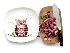 Creative Food Art Portraits by Hong Yi - FoodiesFeed