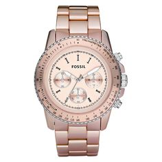 Pink Fossil Watch. I have this and I Love it!!