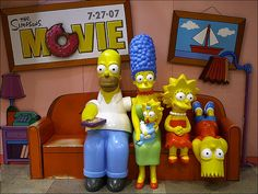 """""""30 things I learned from The Simpsons""""  The-Simpsons by audii.dudii, via Flickr"""
