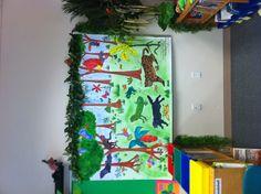 Rainforest library kindergarten
