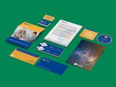 Criação de identidade visual para a corretora de Seguros Fusão. Elaboramos a criação do logotipo, cartão de visita, papel timbrado, pasta com bolso, envelope ofício, envelope carta e assinaturas de e-mail.