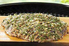 South American Marinated Cedar-Planked Steak recipe